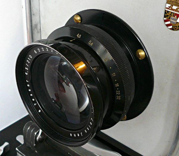 Carl Zeiss Jena - Tessar - 210 mm f/4,5 - 1961/64