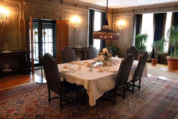 george eastman museum - dinning room