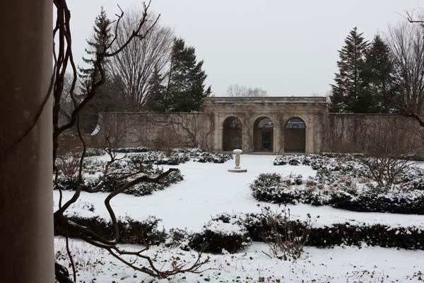 george eastman museum - garden