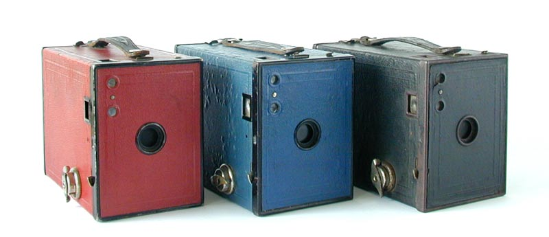 Brownie camera 2 RedBlueBlack