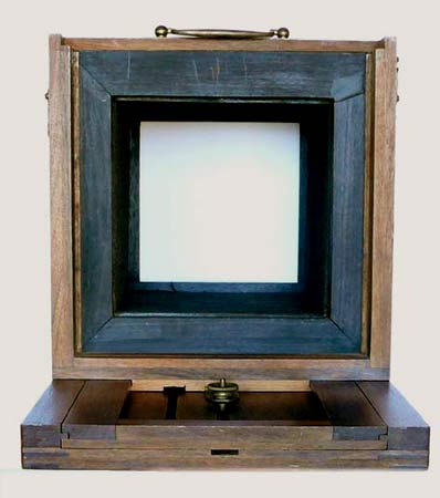 collodion camera - back