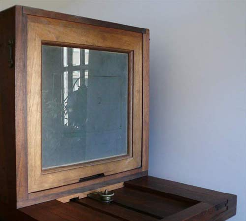 collodion camera - ground glass