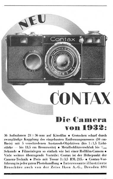 Contax IIIa | Zeiss Ikon – only images
