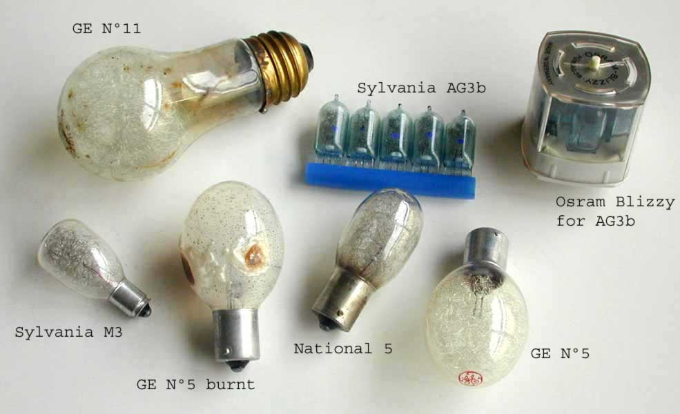 flashbulbs - types