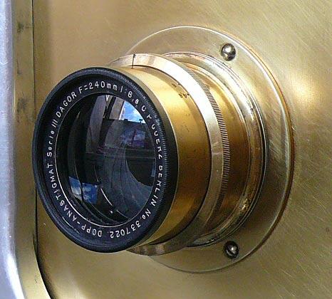 C. P. Goerz Berlin Doppel Anastigmat Serie III - DAGOR - 240 mm f/6.8
