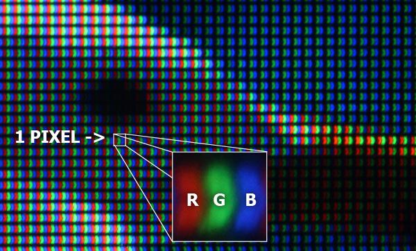 pixel - rgb