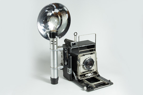 crown graphic graflex - 3/4