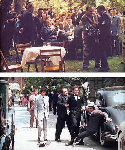 "film and mafia comparing the godfather Ostensibly a mafia family saga, the godfather has been seen by many a critic as a metaphor or paradigm for american capitalist imperialism: ""survival of the fittest, the ruthless annihilation of rivals and the amassing of money which in turn purchases power"" (peter cowie, the godfather book (london 1997) 174."