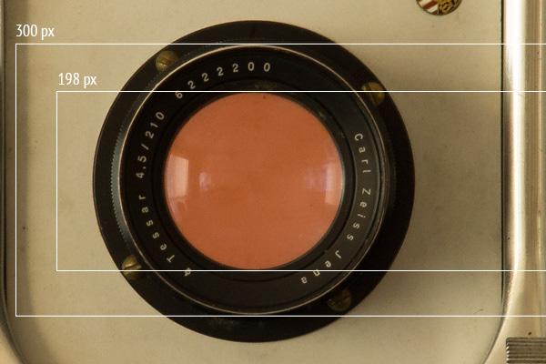 lens aperture tessar
