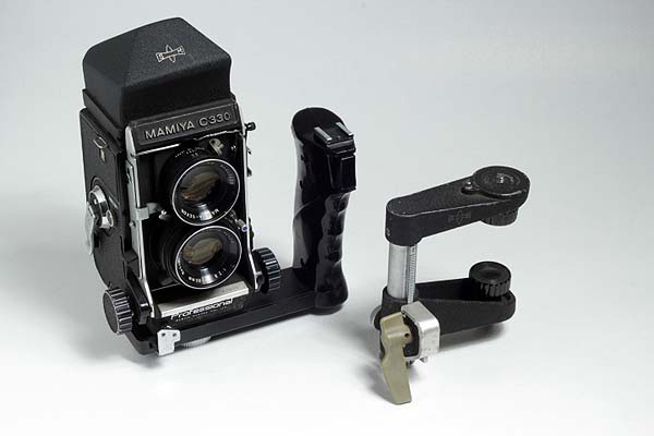 mamiya c330 - prisma, manopla, paralaxe