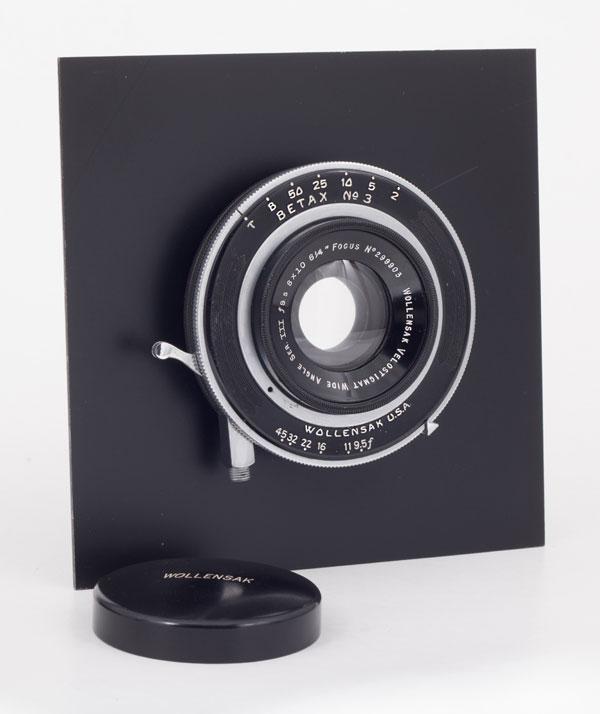 Wallensak Velostigmat Wide Angle Ser. III f9.5  8 x 10  6 ¼ - 159 mm