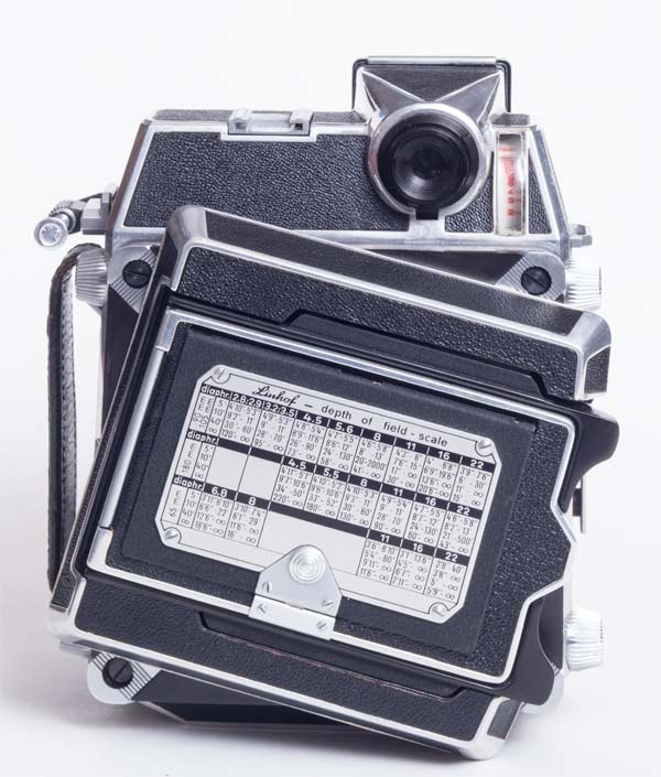 Linhof Super Technika 23 - rotating back