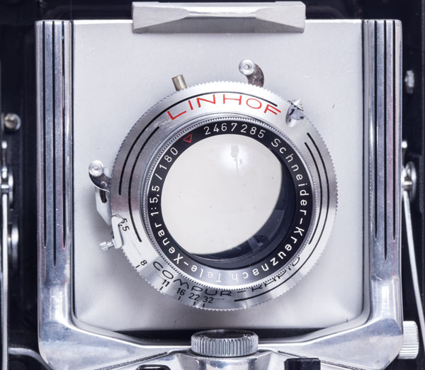 Linhof Super Technika 23 - Schneider Tele-Xenar 180mm f/5.5