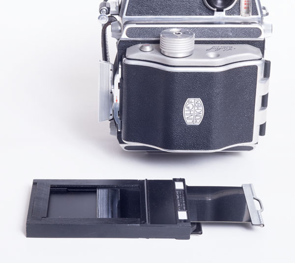 Linhof Super Technika 23 - sheet and roll film adapters