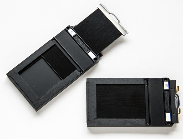 2.25 x 3.25 inches or 57 x 82 mm film holders