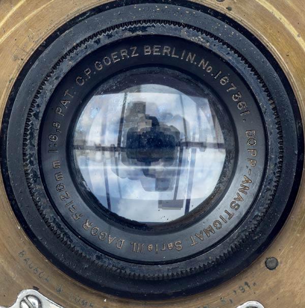 C. P. Goerz Berlin Doppel Anastigmat Serie III - DAGOR - 120 mm f/6.8