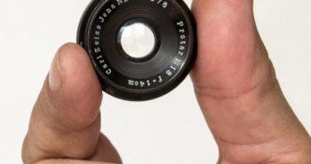 Protar V - Carl Zeiss Jena 14 cm, 1:18, super wide angle lens 1926