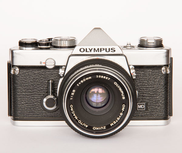 Olympus OM1n with macro 50 mm f/3.5