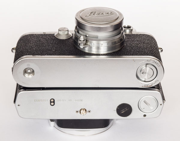 Olympus OM1n and Leica IIIf