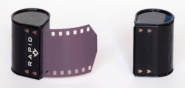Penti II - Pentacon - Rapid or SL system cassetes