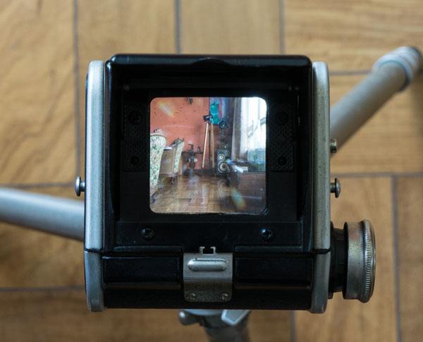 Kodak Duaflex II - viewfinder