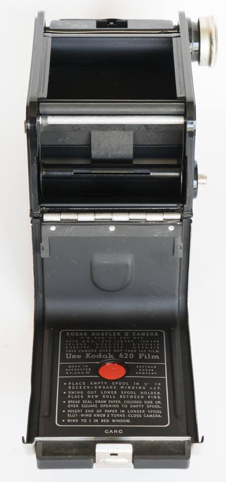 Kodak Duaflex II - open
