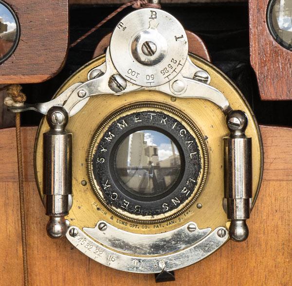Klito - Houghton - 1904 - Beck Symmetrical lens in Bausch & Lomb Unicum shutter
