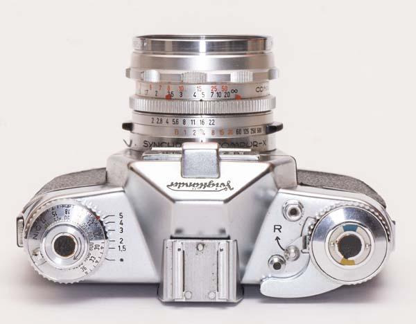 Voigtlander Bessamatic Deluxe - with Septon 50mm f/2.0