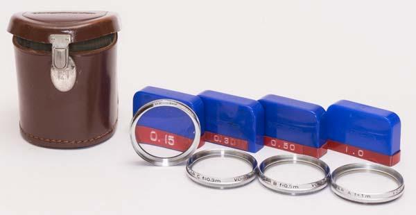 Voigtlander Bessamatic Deluxe - close-up lens set