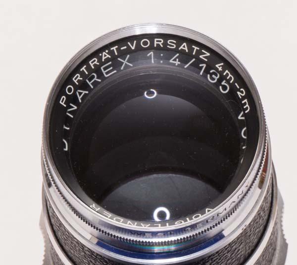 Super Dynarex 135 mm f/4 with portrait lens attachment