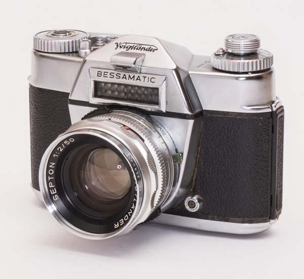 Voigtlander Bessamatic Deluxe - with Septon 50 mm f/2.0