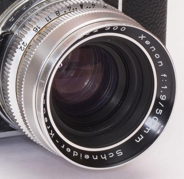Kodak Retina Reflex III -  Xenon 50mm f/1.9 lens